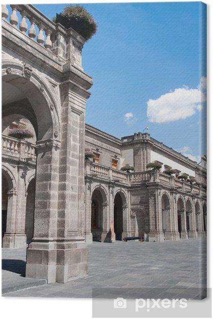 Chapultepec castle, Mexico city Canvas Print - America