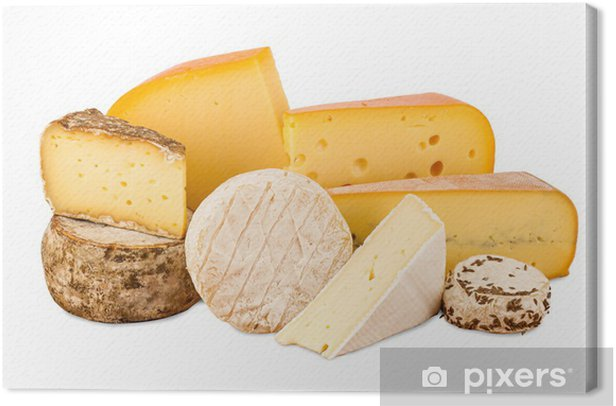 cheese Canvas Print - Cheeses