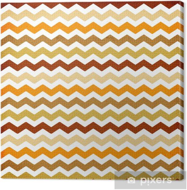 chevron background pattern Canvas Print - Backgrounds