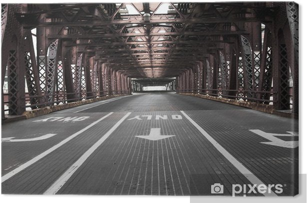 Chicago Bridge Canvas Print - Themes