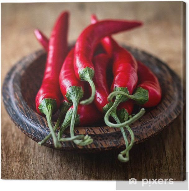 Chili pepper Canvas Print - Vegetables