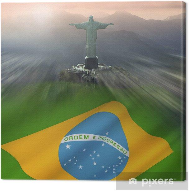 Christ the Redeemer - Rio de Janeiro - Brazil Canvas Print - Brazil