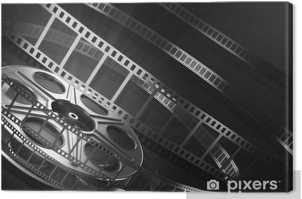 Cinema film reel Canvas Print - Movies and TV series