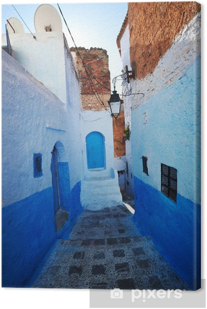 City in Morocco Canvas Print - Africa