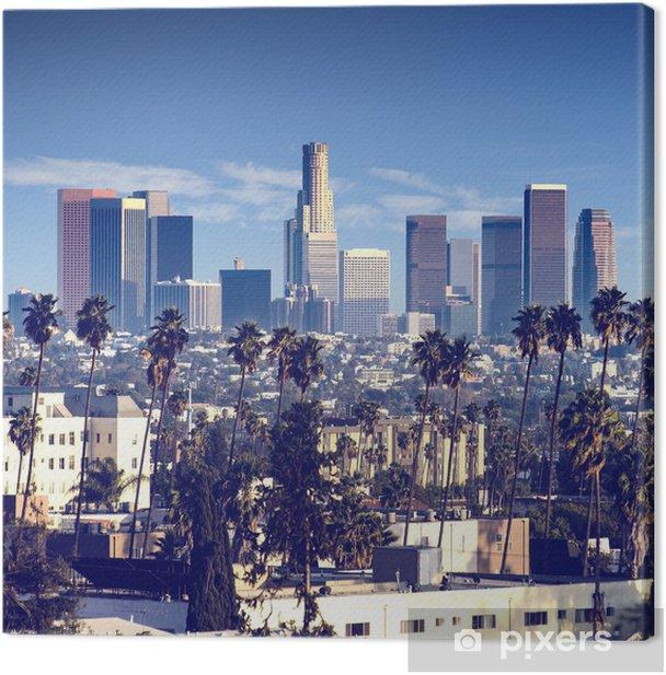 City of Los Angeles, california Canvas Print - Themes