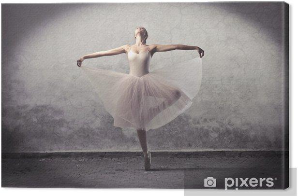Classic ballerina Canvas Print - Themes