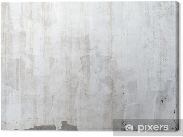 Closeup Concrete Wall Texture With Plaster And White Paint Canvas Print Istaging