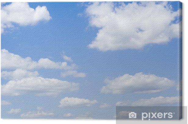 clouds in the sky Canvas Print - Themes