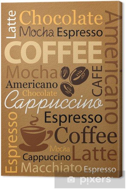 coffee Canvas Print -