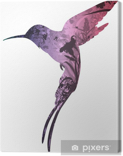 colibri Canvas Print - Birds
