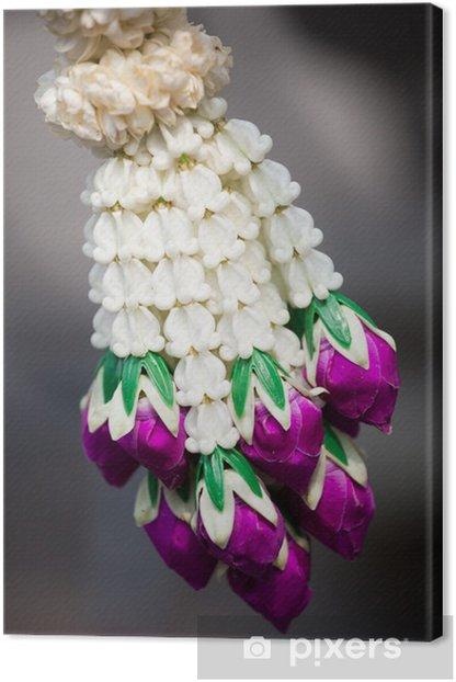 collier chapelet prière thaïlande Canvas Print - Asia