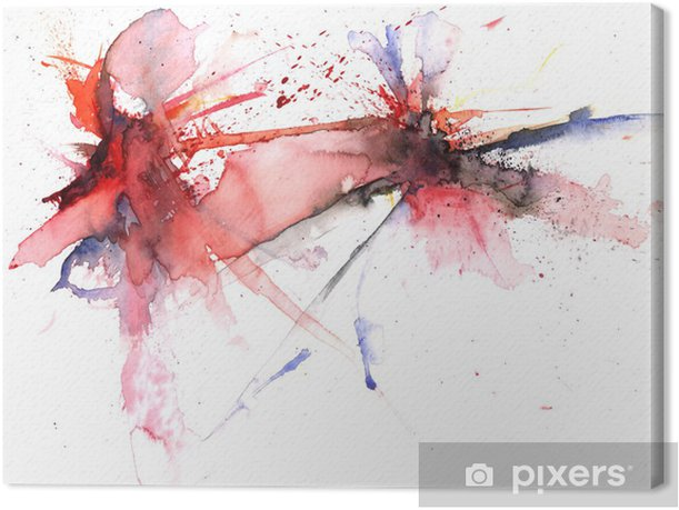 color explosion Canvas Print - Art and Creation