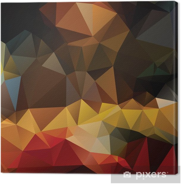 Colorful abstract background Canvas Print - Graphic Resources