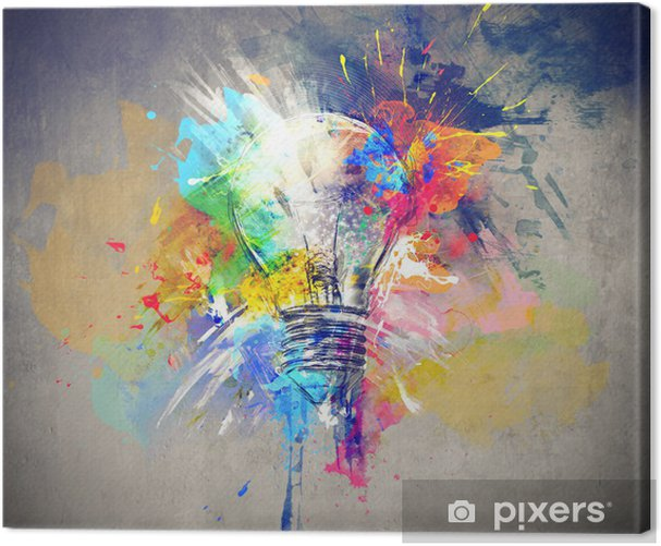 Colourful Light Canvas Print -