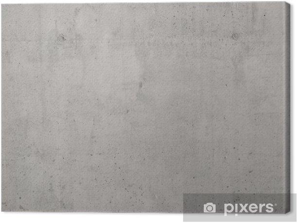 Concrete Wall Canvas Print - Themes