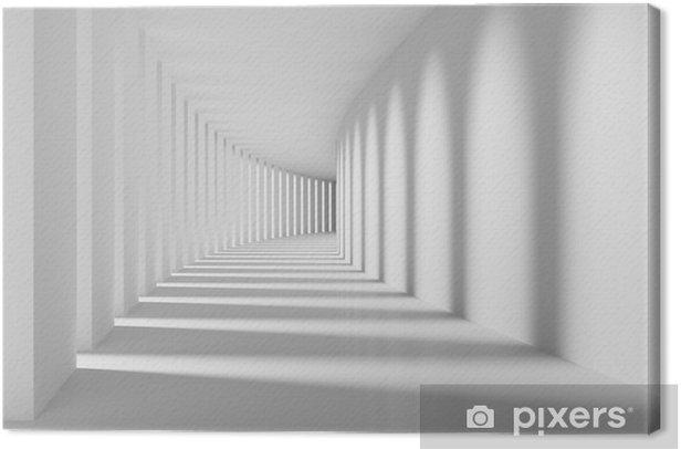 corridor Canvas Print - Graphic Resources
