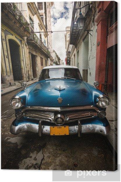 Cuba Vintage Canvas Print -