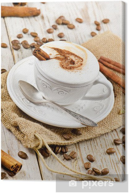 cup of coffee Canvas Print - Themes