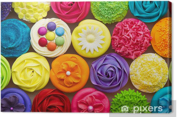 Cupcakes Canvas Print - Sweets and muffins
