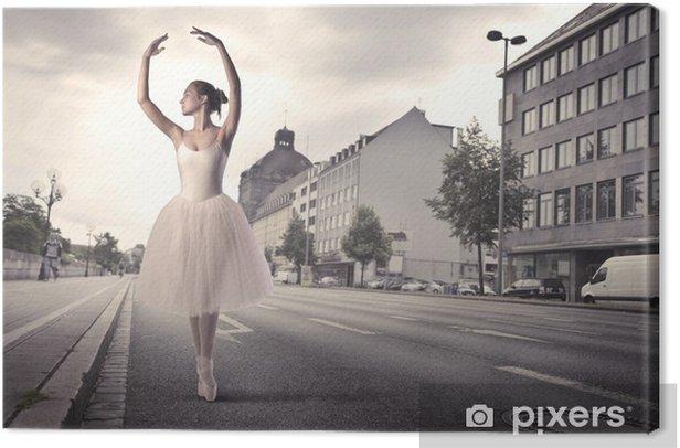 Dancer Canvas Print - Themes