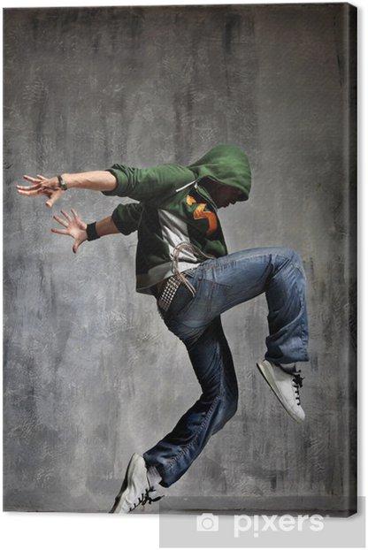 dancing Canvas Print - Themes