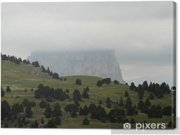Dans le Vercors, la tour du Mordor Canvas Print - Mountains
