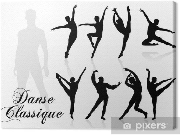 danse classique Canvas Print - Entertainment