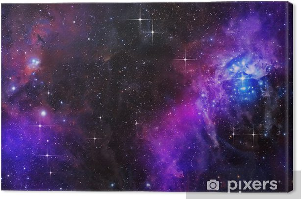 deep or outer space Canvas Print - Styles
