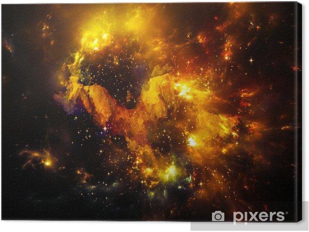 Depth of Nebula Canvas Print - Universe