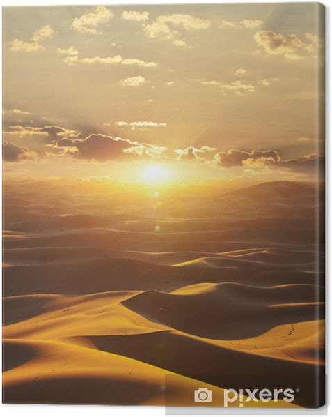 Desert Canvas Print - Themes