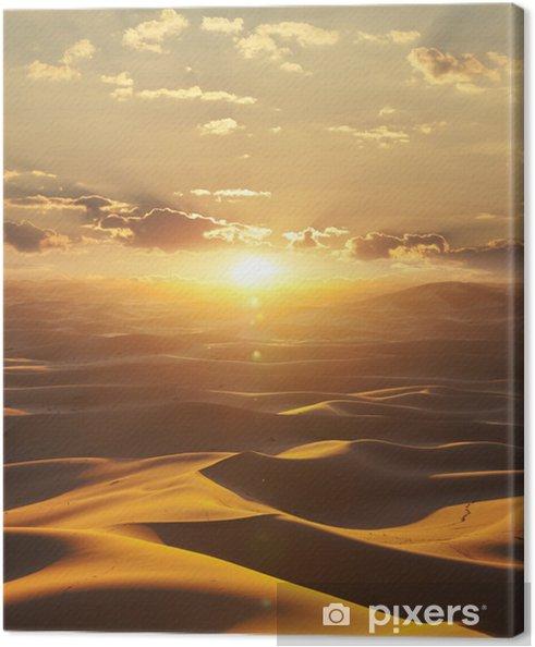 Desert Canvas Print - Themes