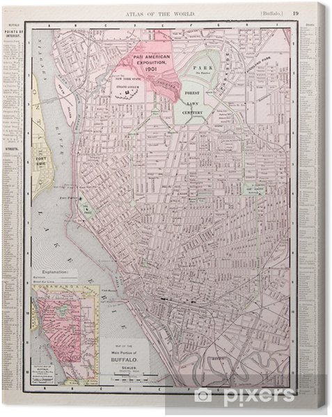 Detailed Antique Color City Street Map Buffalo, New York, USA Canvas on bing driving maps usa, city street view usa, magnets usa, driving road map usa, county maps usa, google maps new jersey usa, 10 day weather map usa, highway maps usa, interstate maps usa, city parking usa, city road map usa, landscape maps usa, maryland map usa, city of university city mo, detroit map usa, new york on map of usa, main street usa, colorado road map of usa, historical map of usa, topographical map usa,