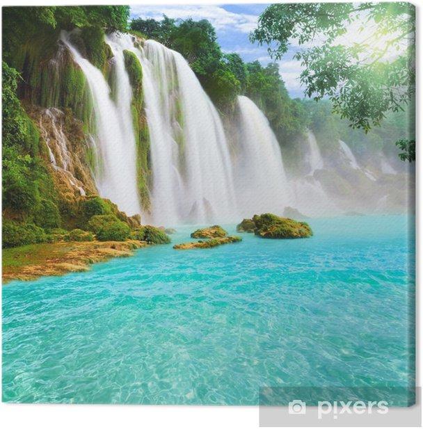 Detian waterfall Canvas Print - Bestsellers
