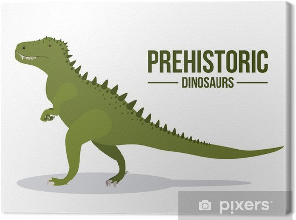 Dinosaur design Canvas Print - Other objects