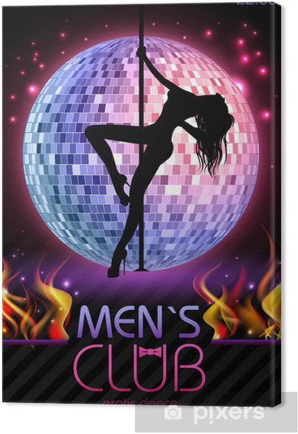 Disco Background Disco Poster Canvas Print Pixers We Live To