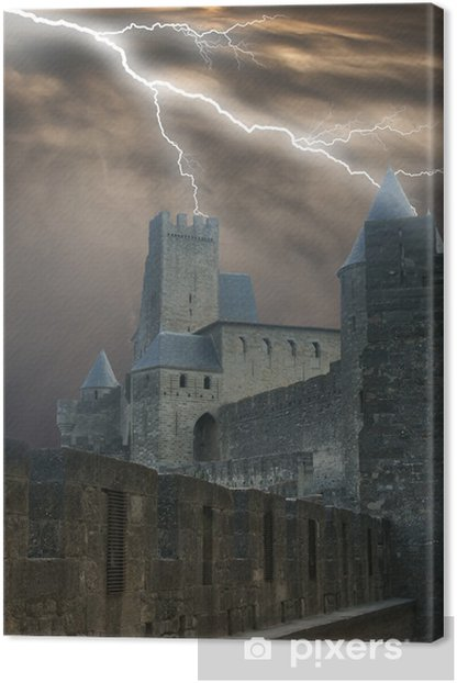 dooms tower Canvas Print - Themes
