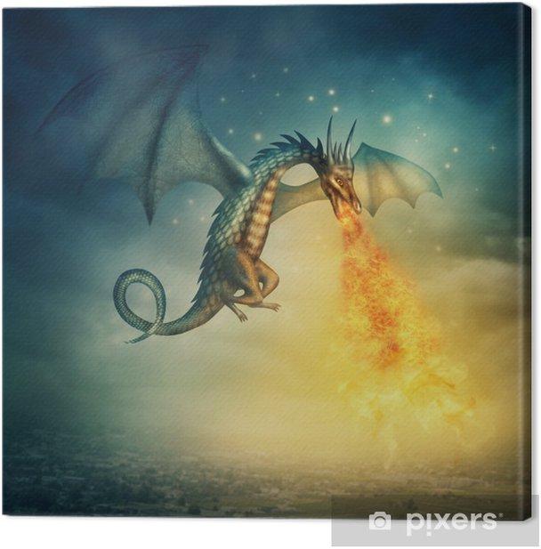 Dragon Canvas Print -