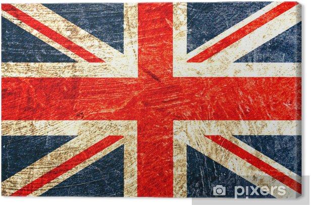 drapeau anglais Canvas Print -