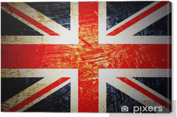 drapeau anglais Canvas Print - National flags