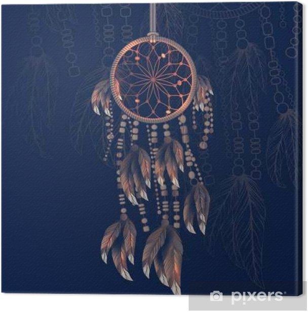Dreamcatcher Canvas Print - Culture and Religion