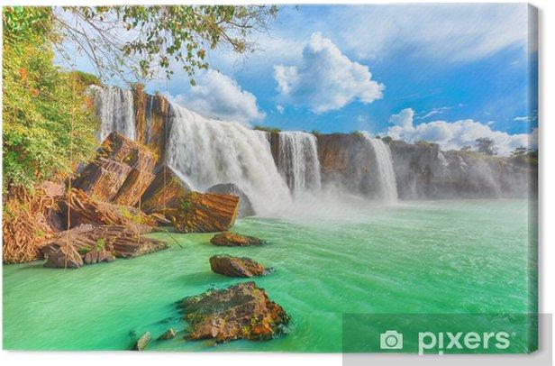 Dry Nur waterfall Canvas Print - Themes