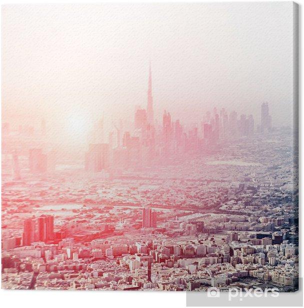 Dubai Landscape Canvas Print - Themes