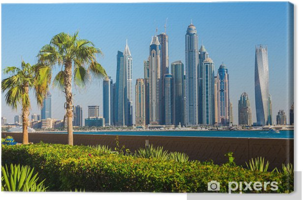 Dubai Marina. UAE Canvas Print - Themes