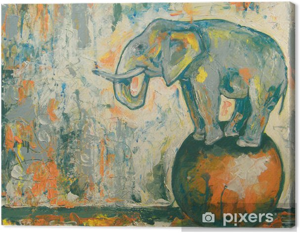 Elefant Canvas Print - Art & lifestyle