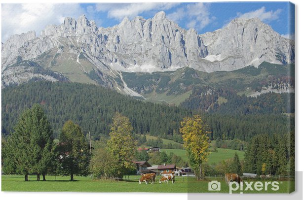 Elmau - Wilder Kaiser Canvas Print - Summer