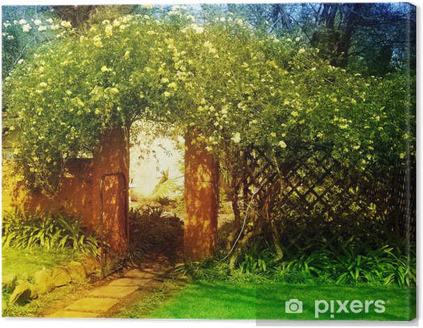 enchanted garden Canvas Print - Private Buildings