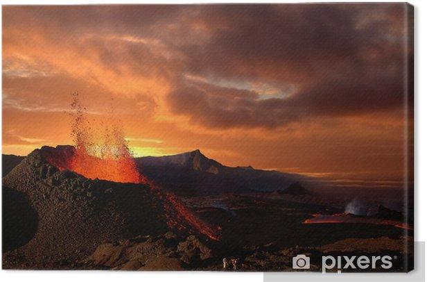 éruption volcanique Canvas Print - Natural Disasters