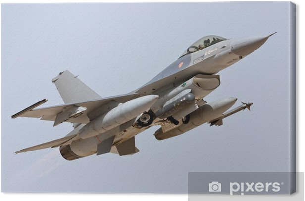 F-16 - Take Off Canvas Print - Themes