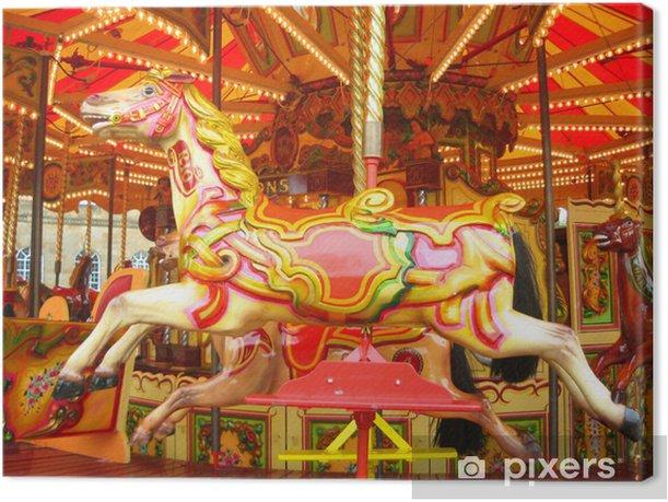 fair ride Canvas Print - Art and Creation