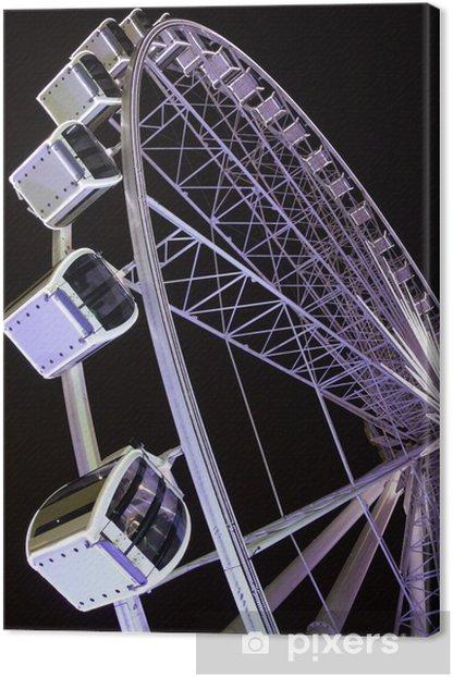 Ferris wheel Canvas Print - Entertainment